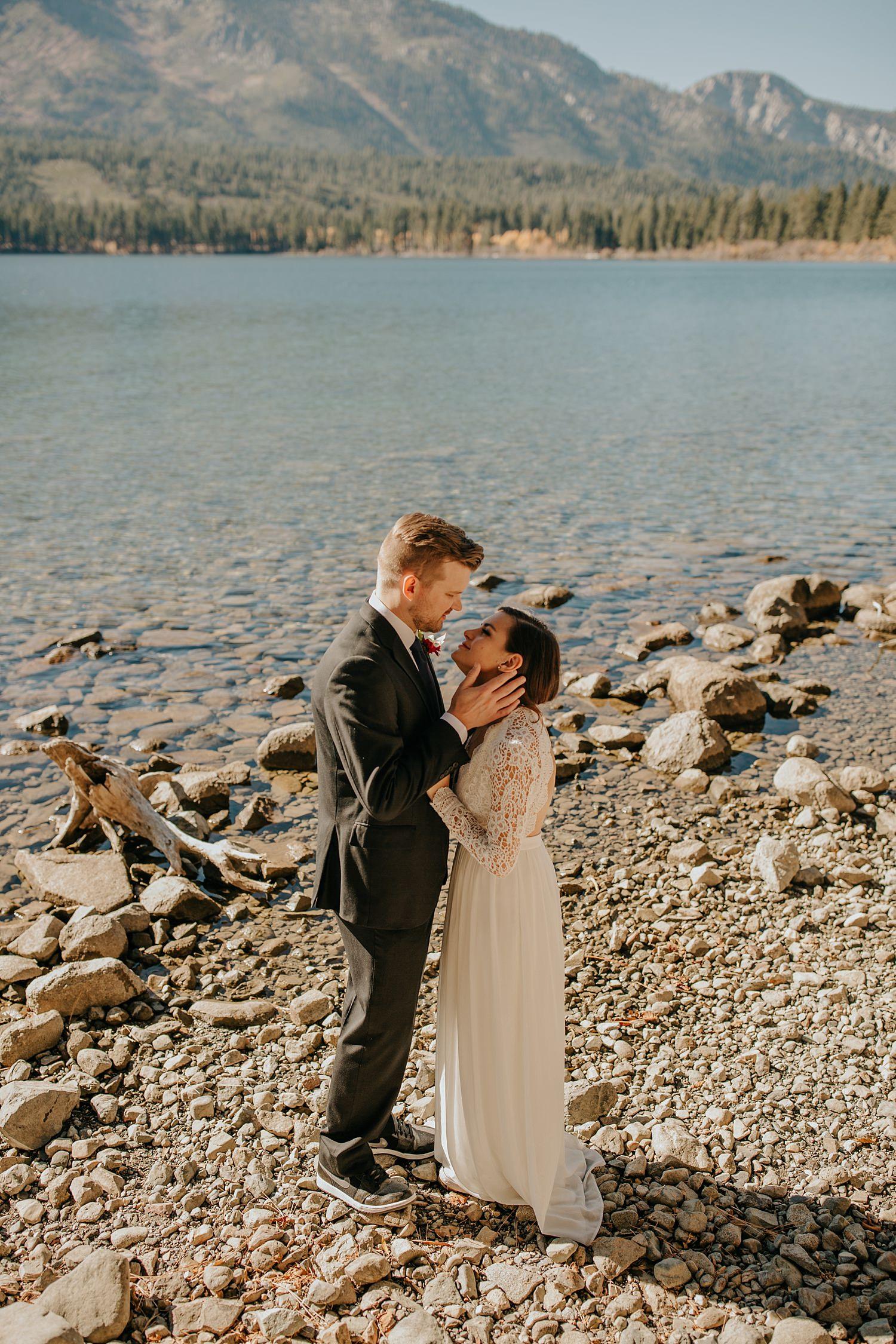 Lake Tahoe Elopement | http://alexandriamonette.com