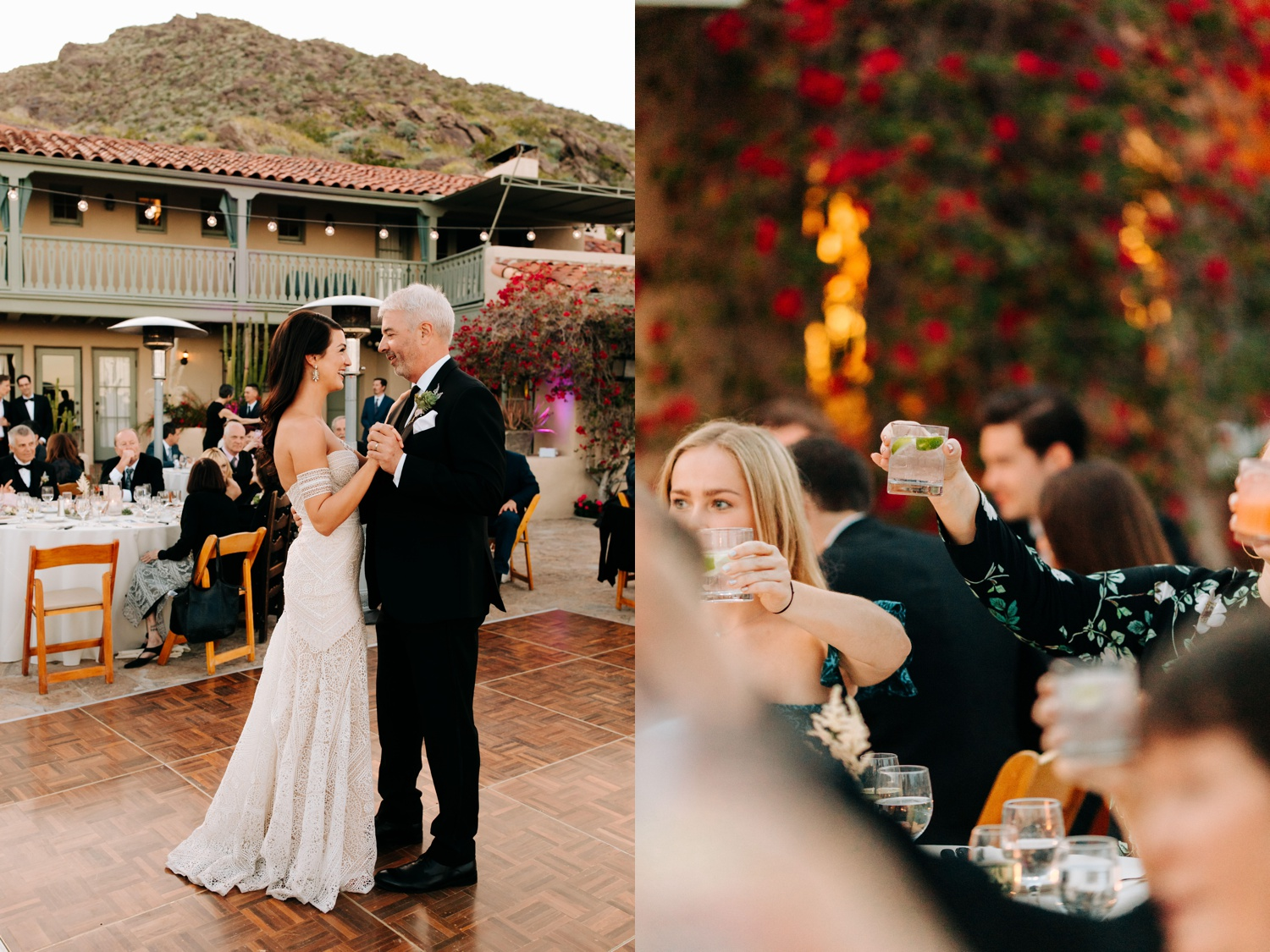 Wedding Reception at O'Donnell House Palm Springs