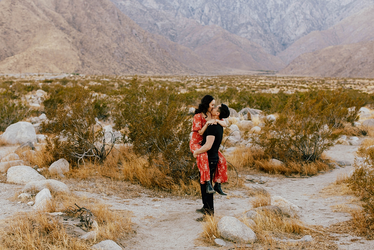 Palm Springs Engagement Photoshoot