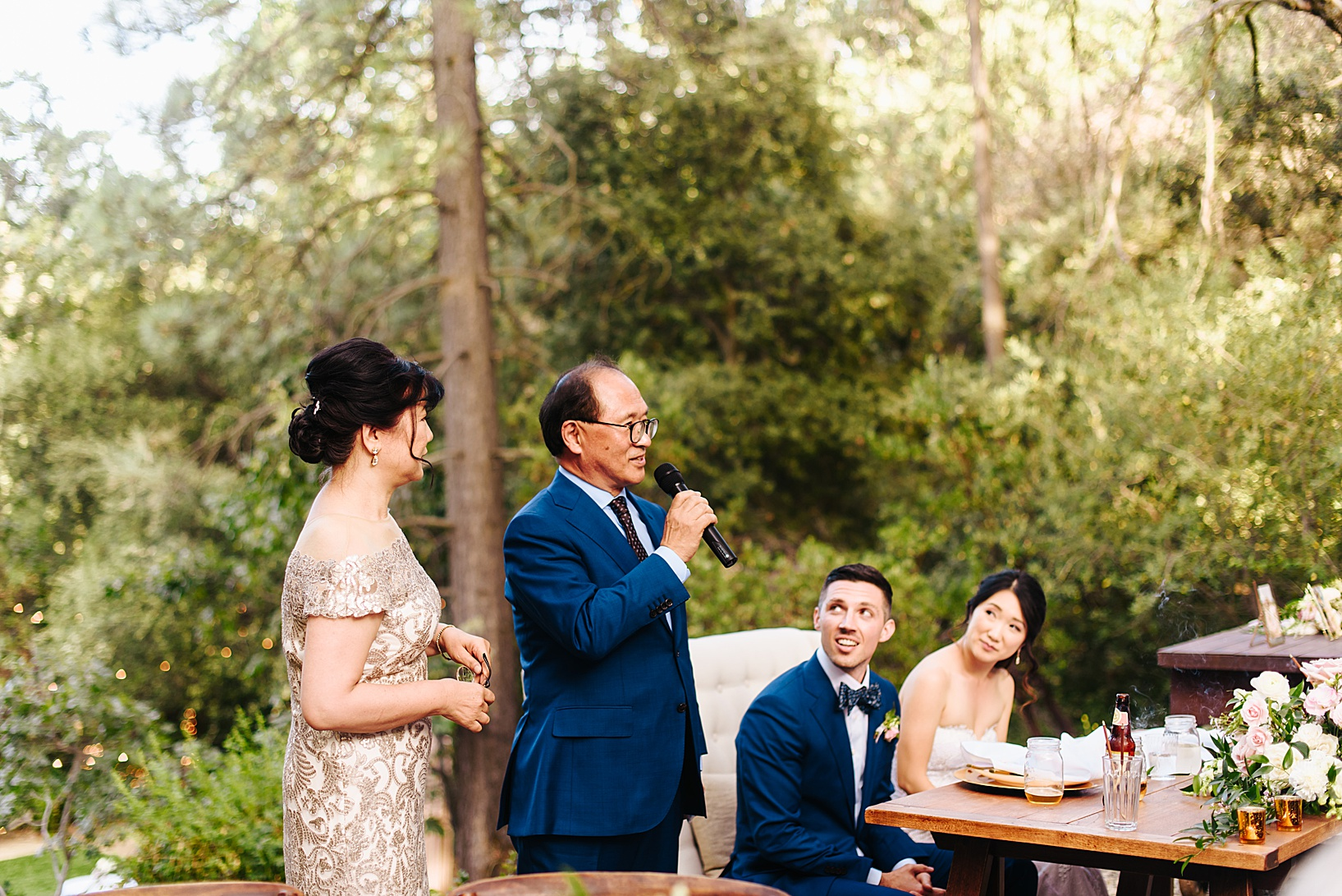 reception for Julian Wedding at Sacred Mountain