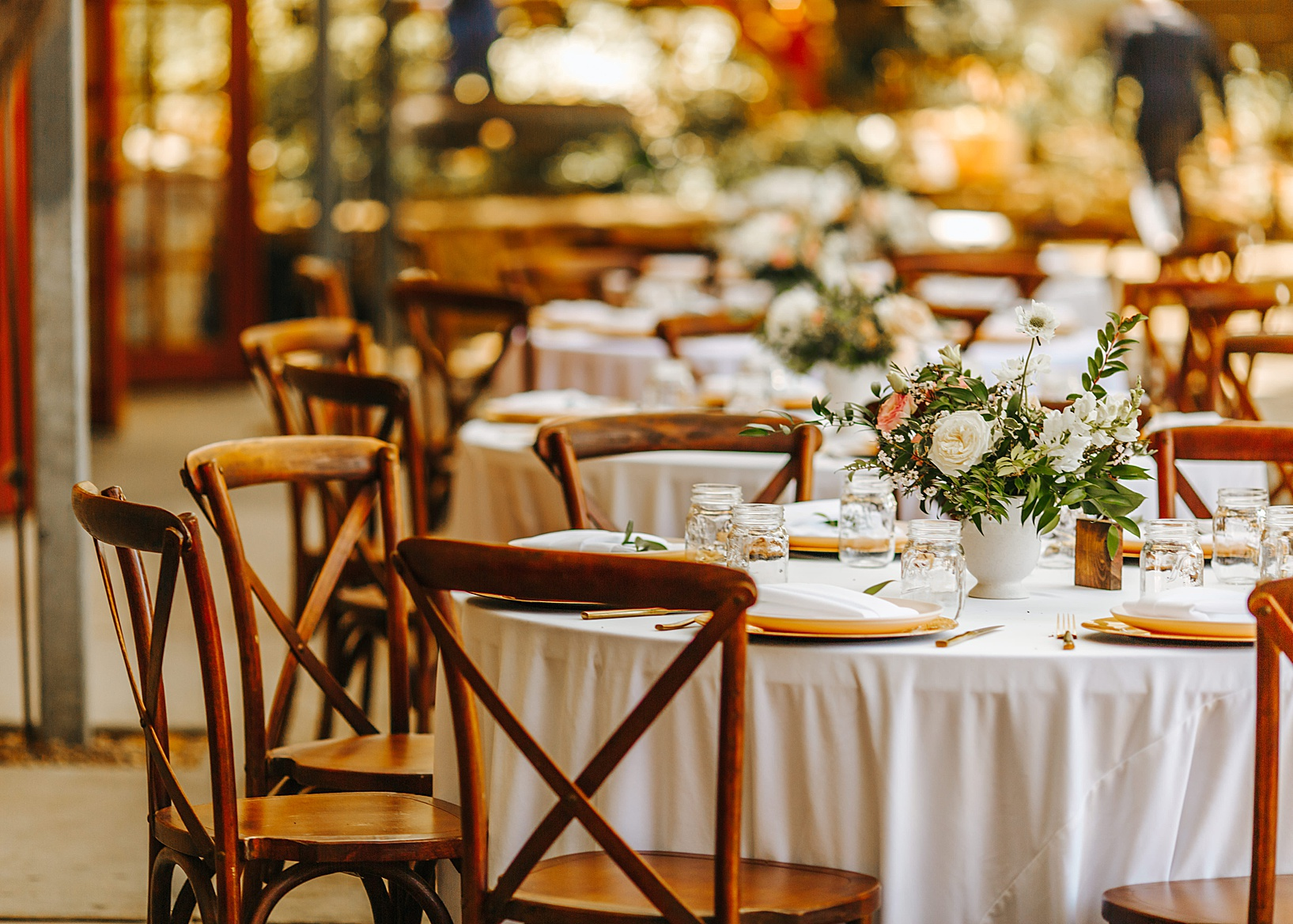 reception details for Julian Wedding at Sacred Mountain