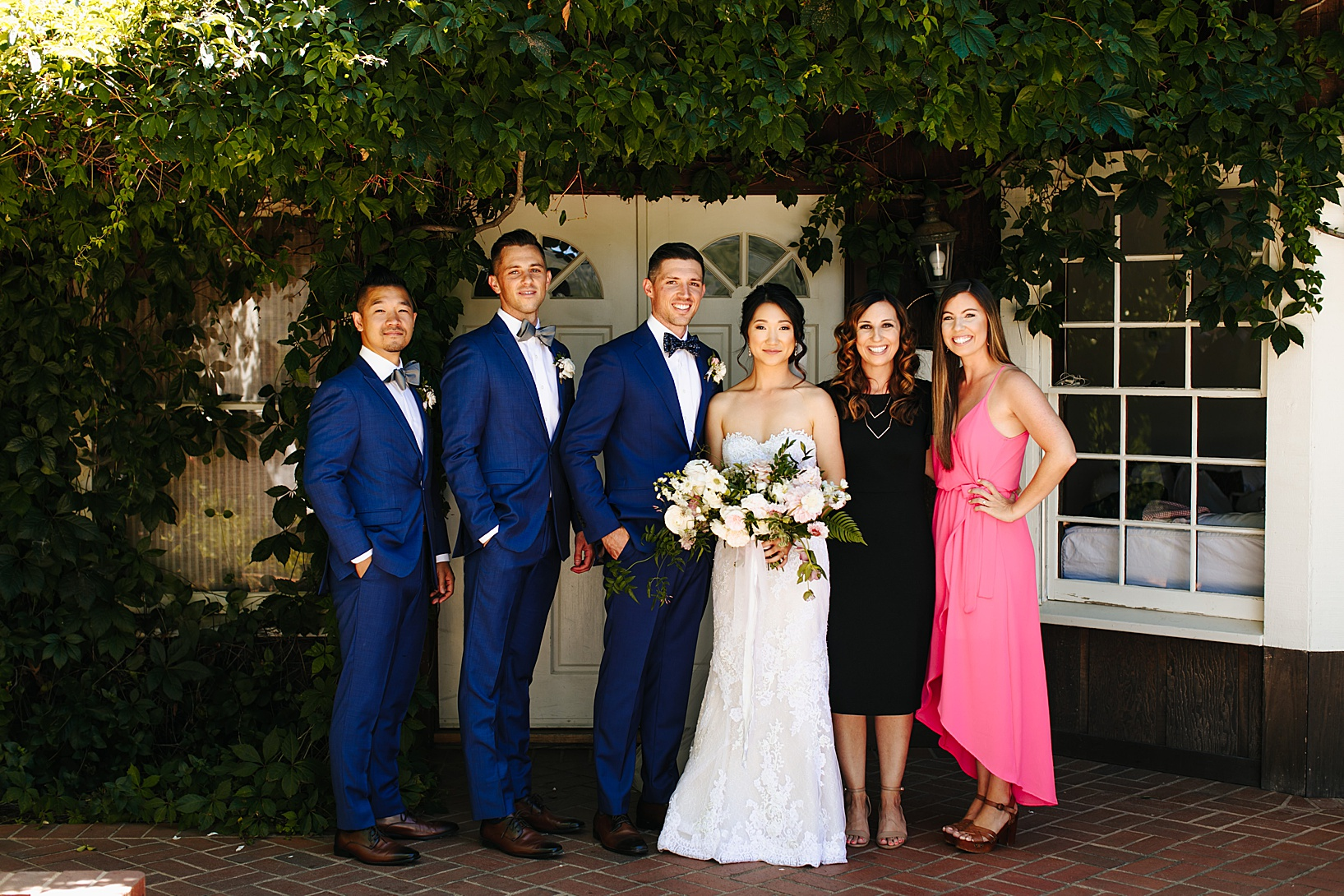 family photos for Julian Wedding at Sacred Mountain