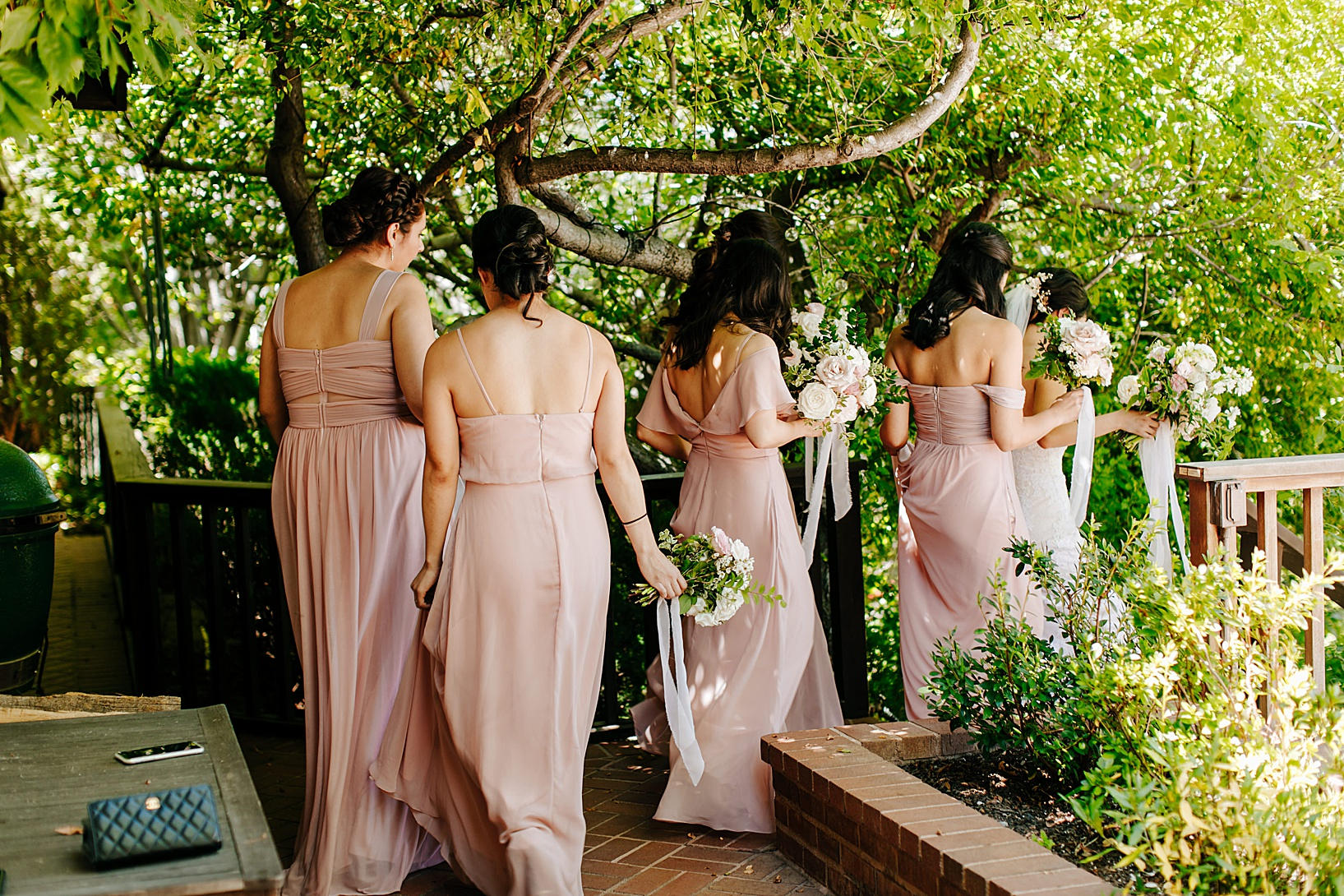 wedding party for Julian Wedding at Sacred Mountain