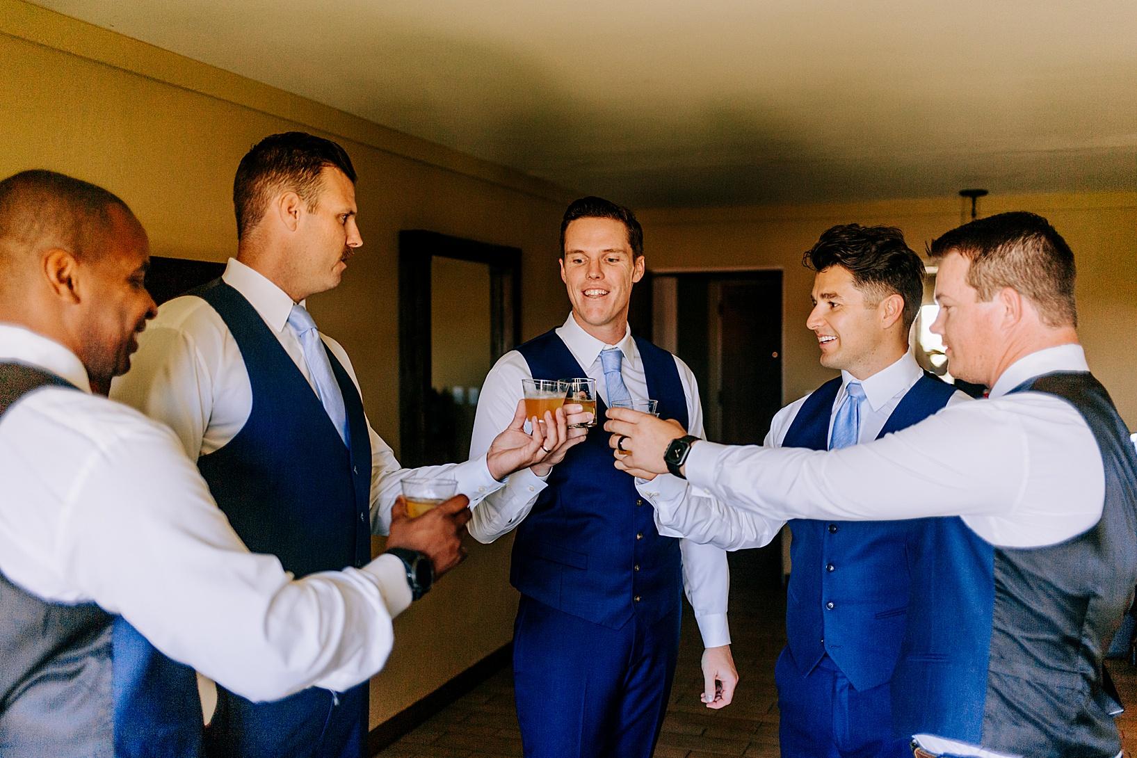 Getting ready for Temecula wedding at Temecula Creek Inn