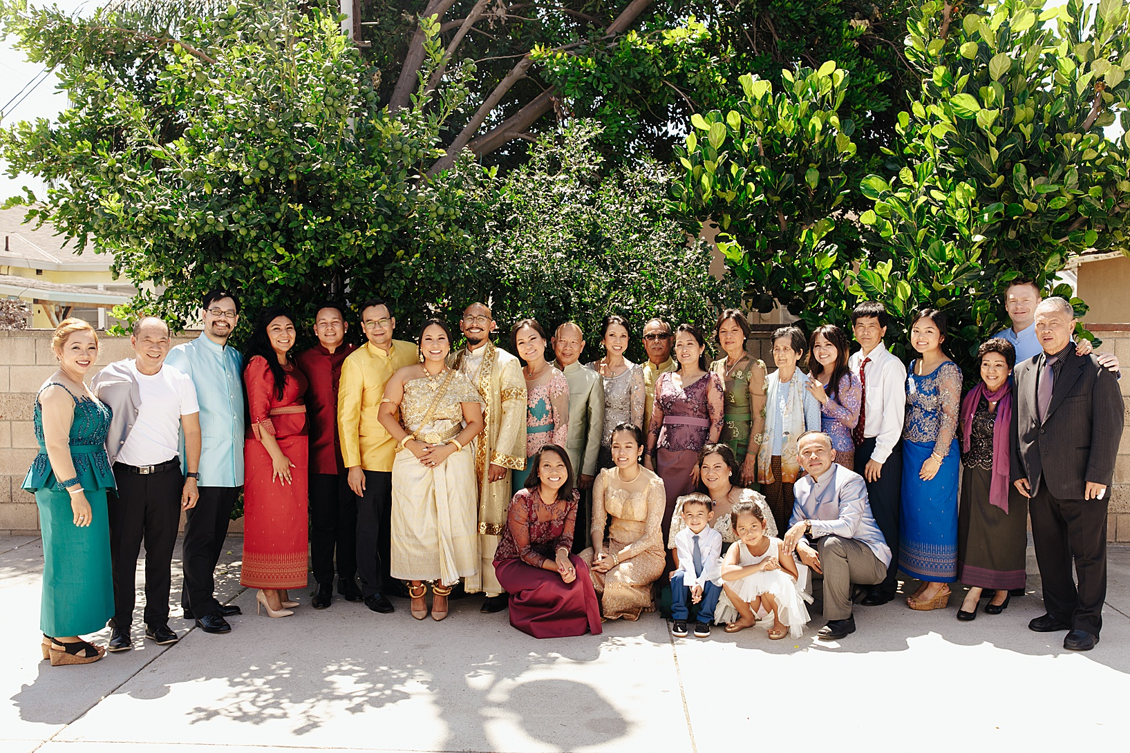 Haircut ceremony for Cambodian wedding in Los Angeles