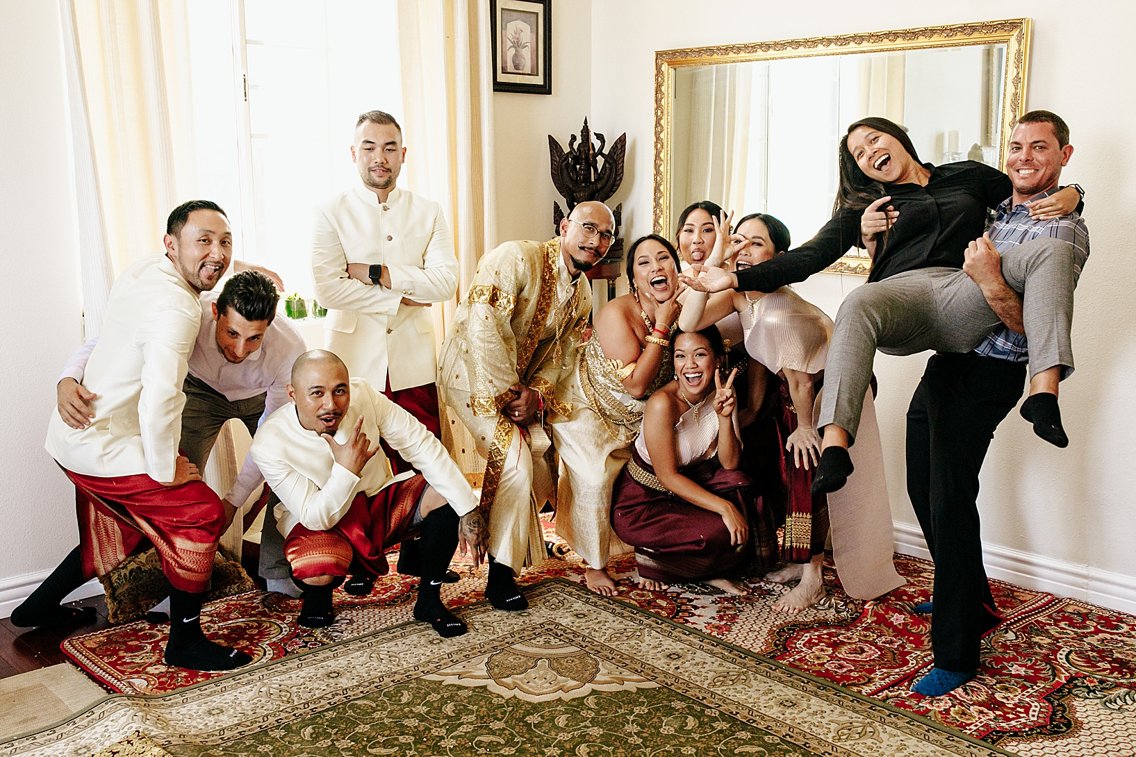 Phka Sla for Cambodian wedding in Los Angeles