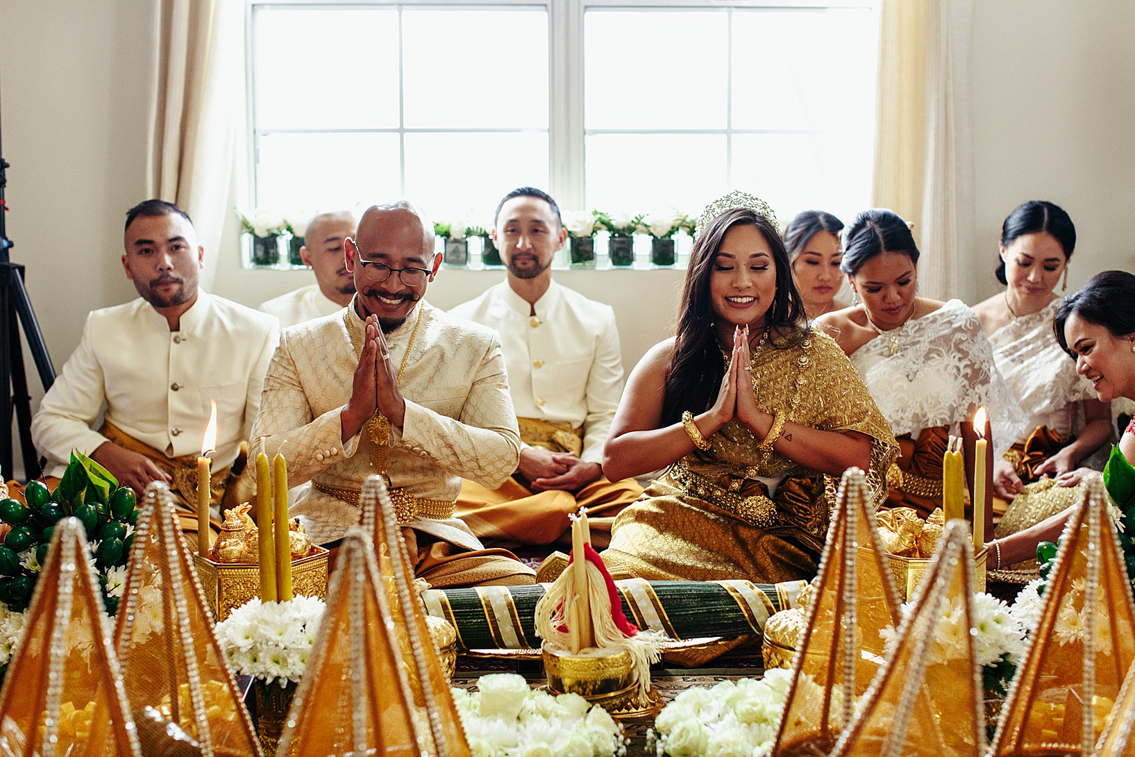 PITHI HAE CHAMNOUN for Cambodian wedding in Los Angeles