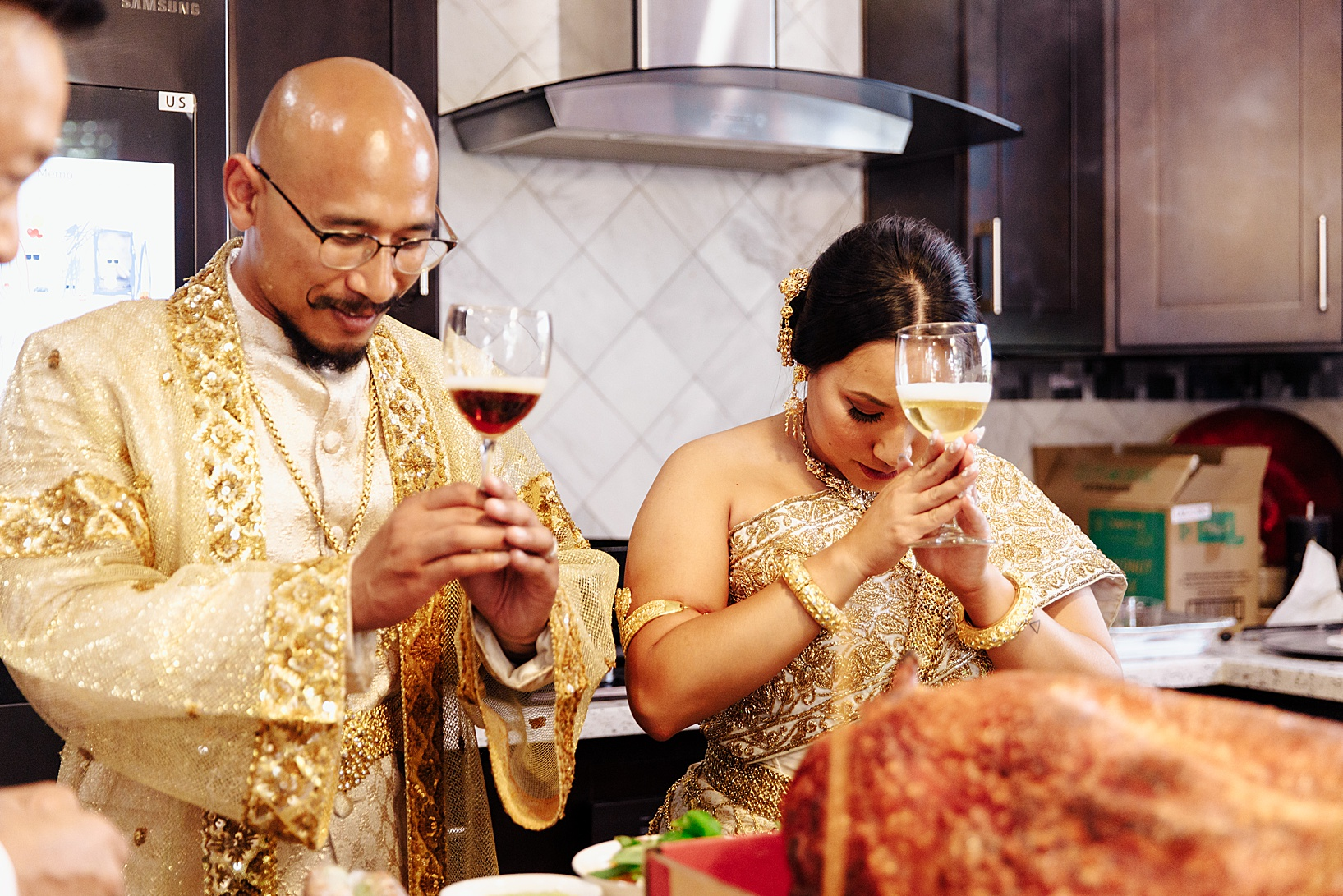 Sain Chi Don Chi Ta for Cambodian wedding in Los Angeles