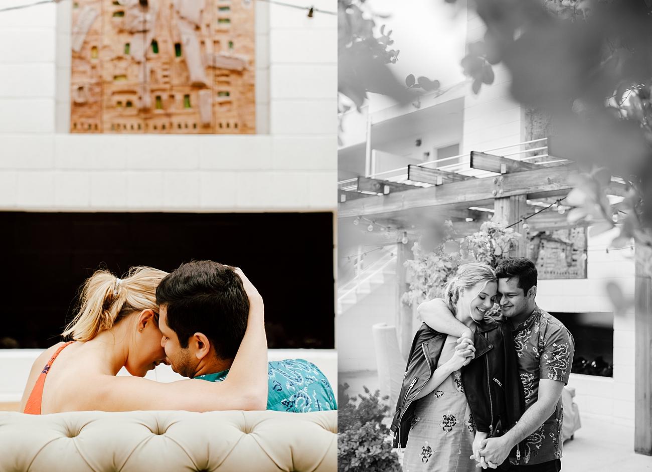 Ace Hotel Engagement Photoshoot