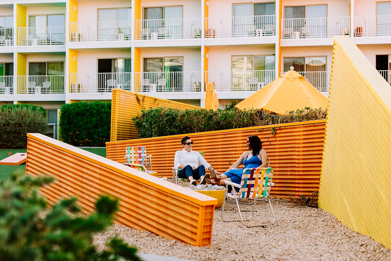 Saguaro Hotel Palm Springs Photoshoot
