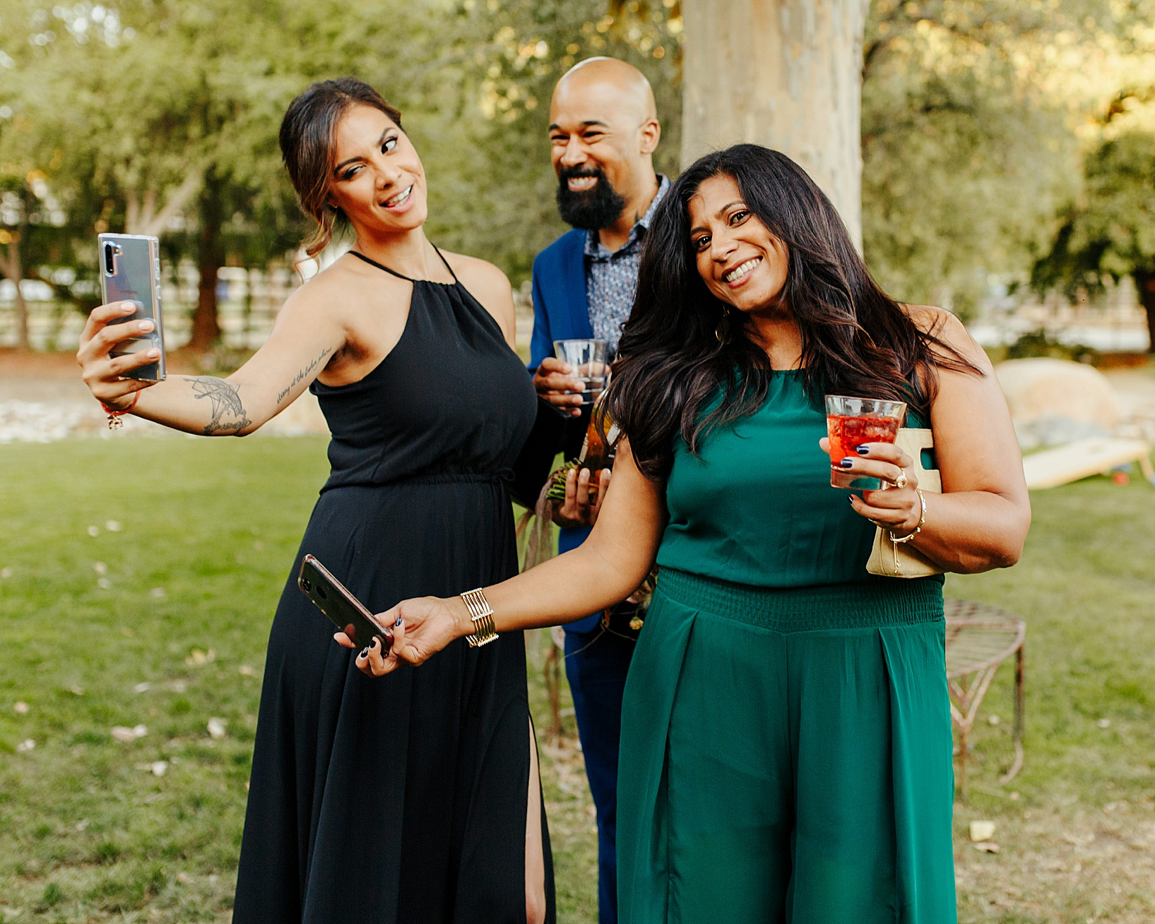 cocktail hour for Temecula wedding at Galway Downs