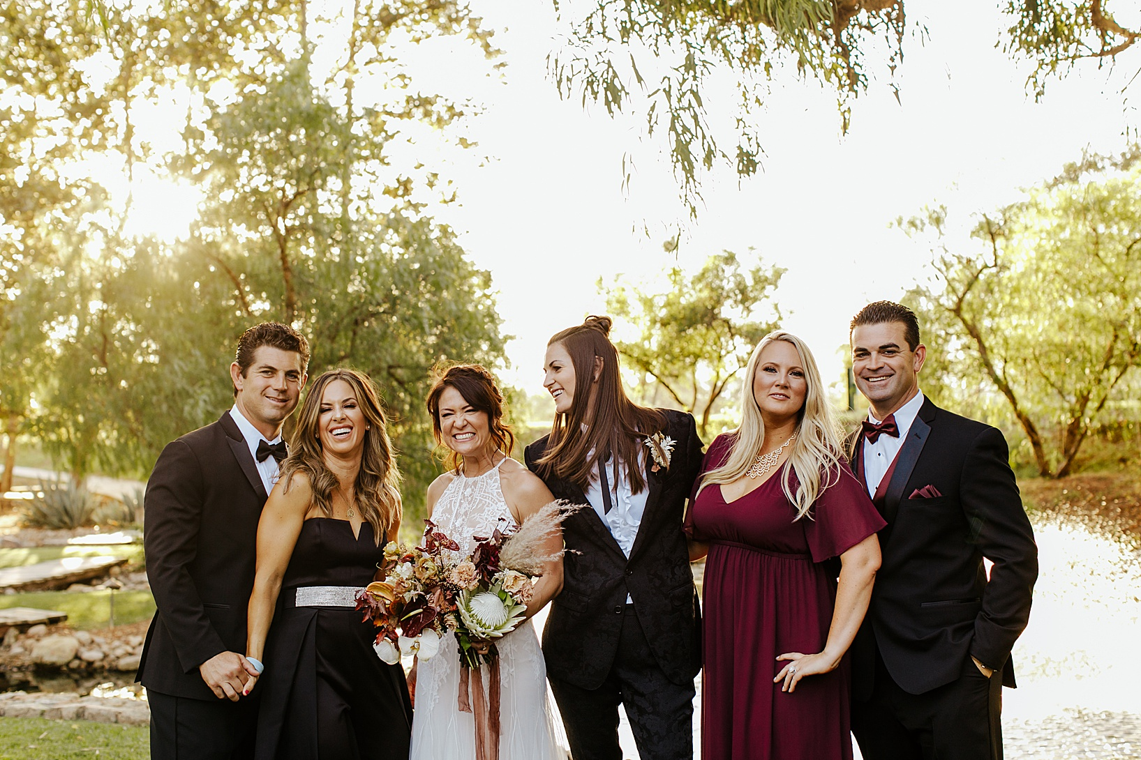 family photos for Temecula wedding at Galway Downs