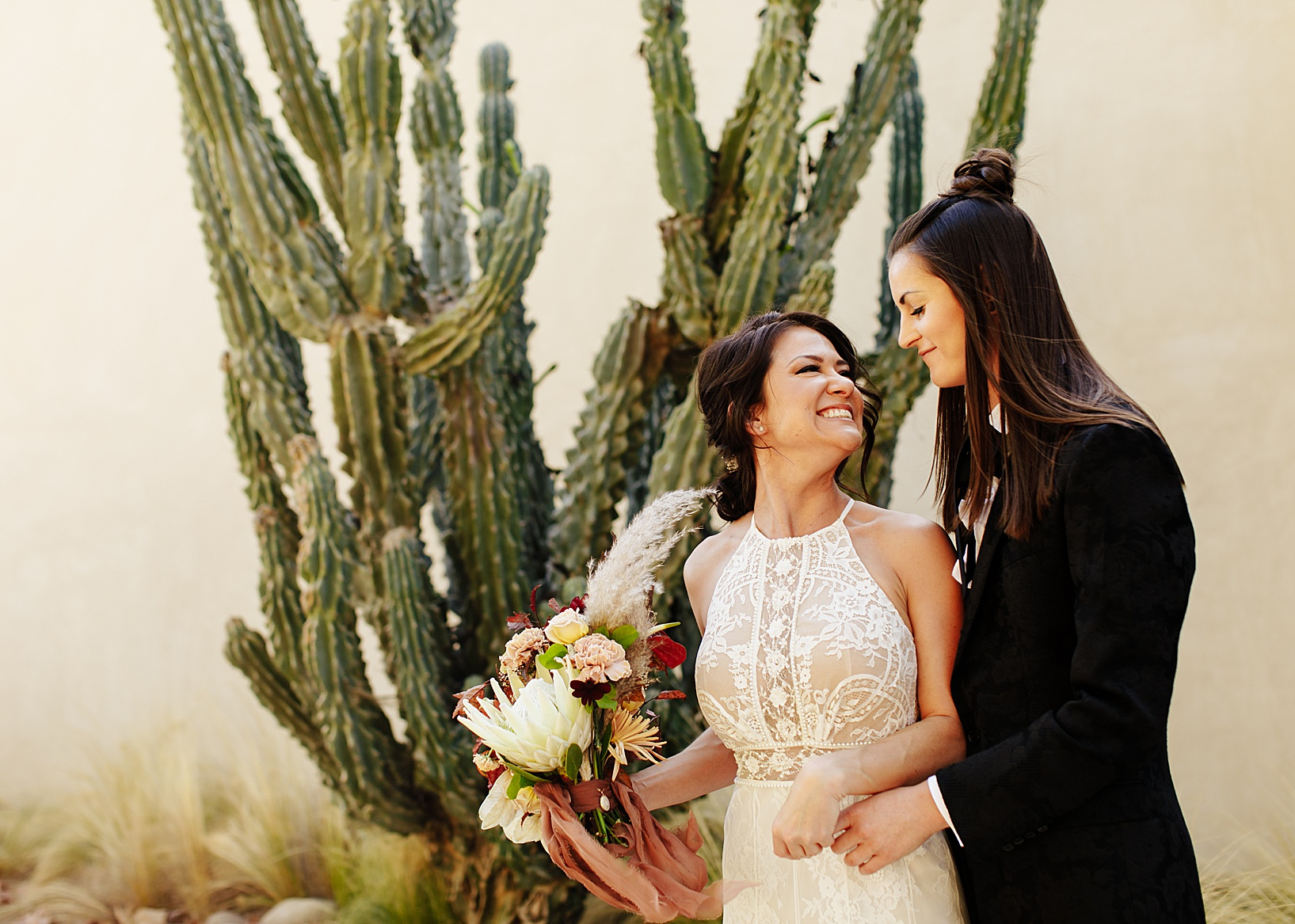 first look for Temecula wedding at Galway Downs
