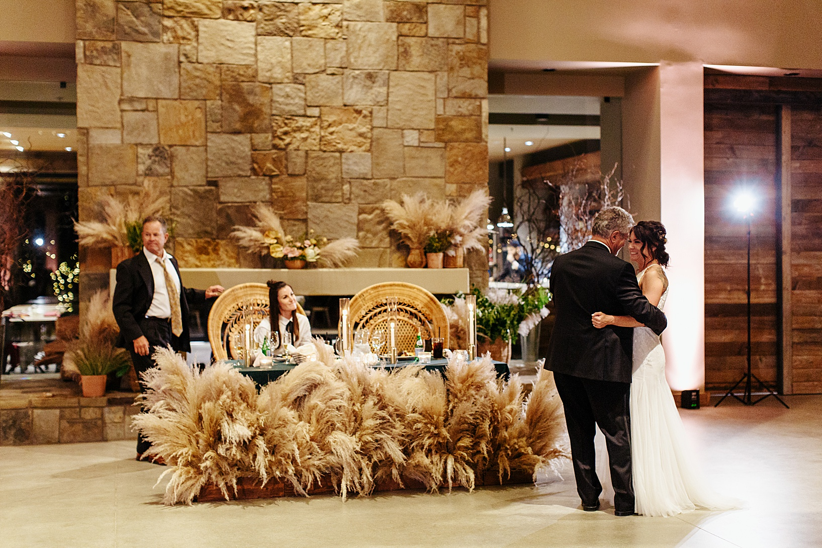 reception for Temecula wedding at Galway Downs
