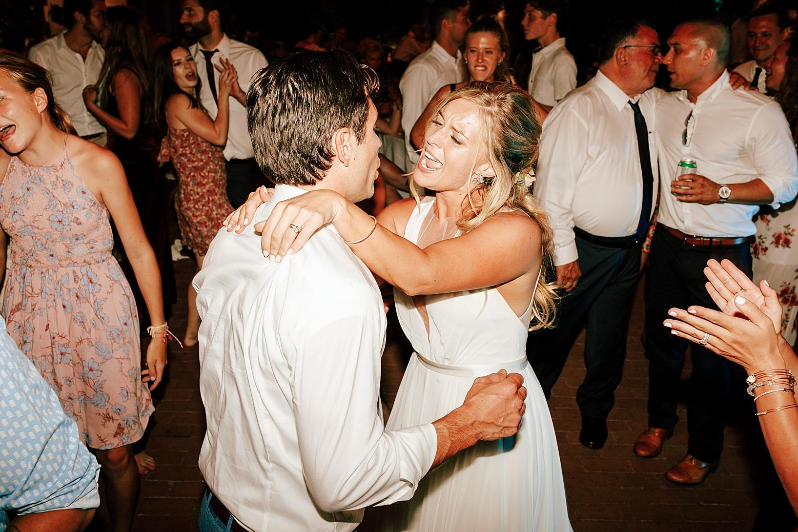 reception details for La Jolla, Ca wedding at TThe Darlington House