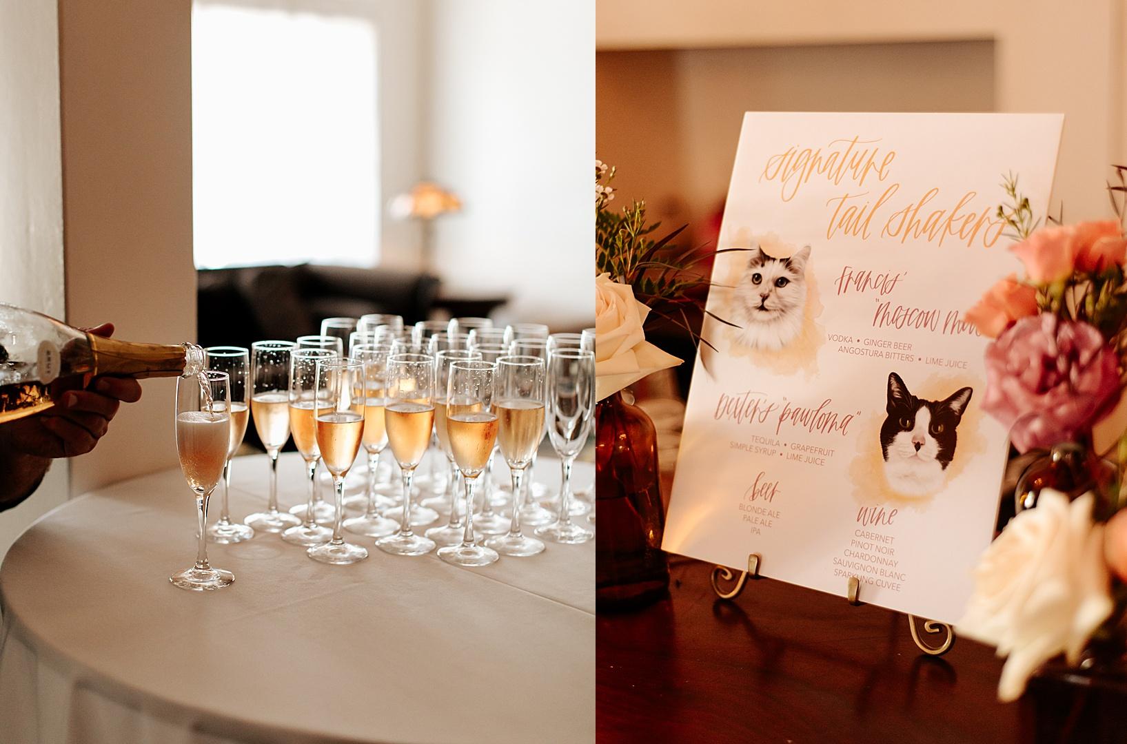 pre ceremony for Los Alamos Wedding at 1800 Union Hotel