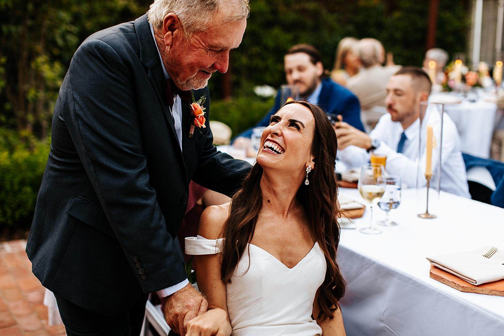 reception for Los Alamos Wedding at 1800 Union Hotel