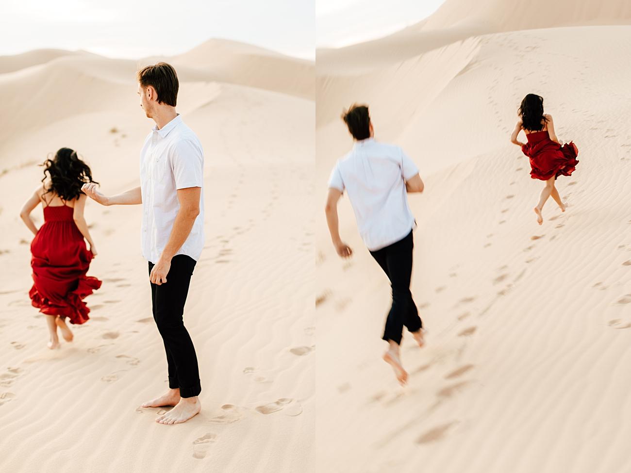 Glamis Sand Dunes Engagement Photos