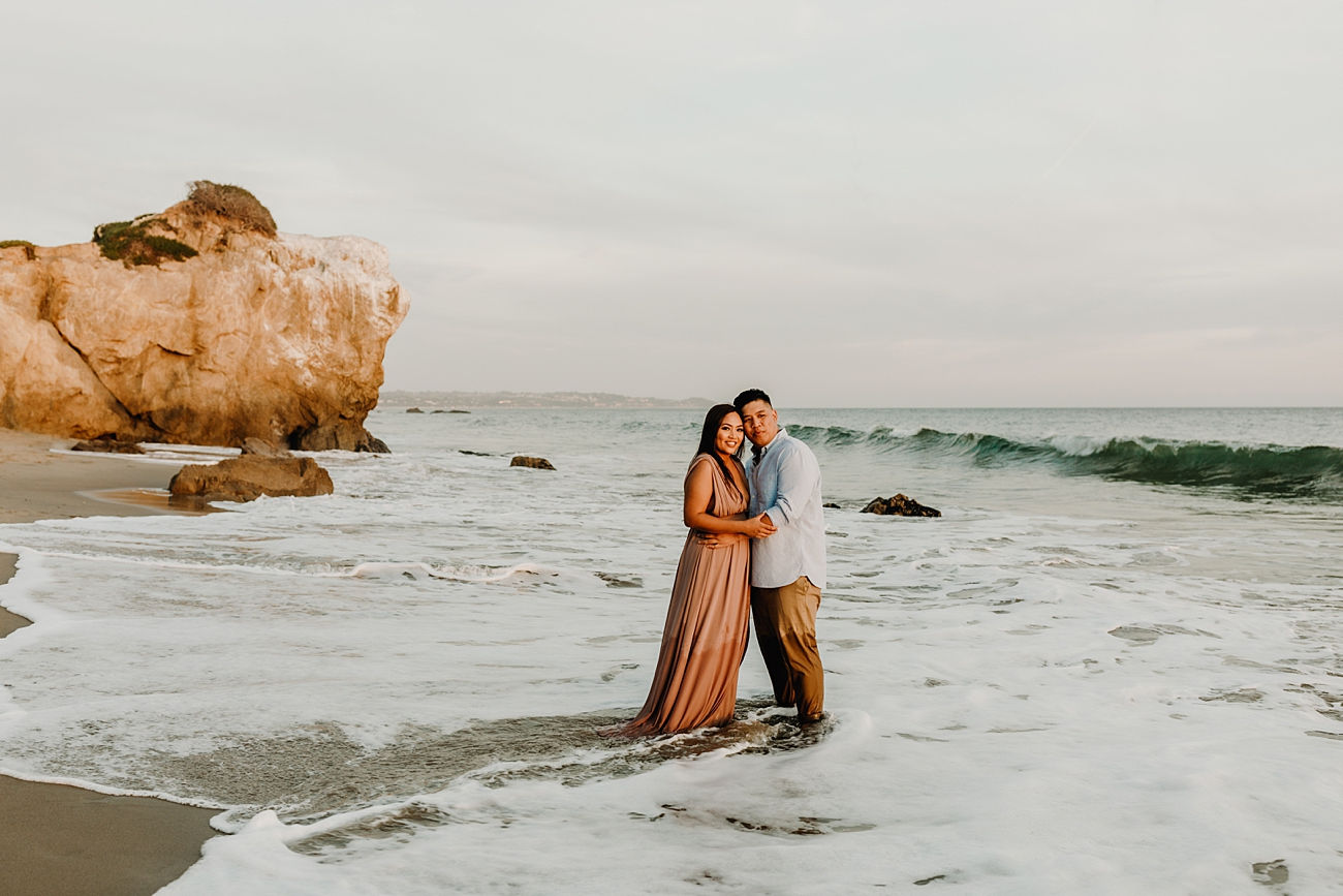 Engagement Photos at El Matador State Beach