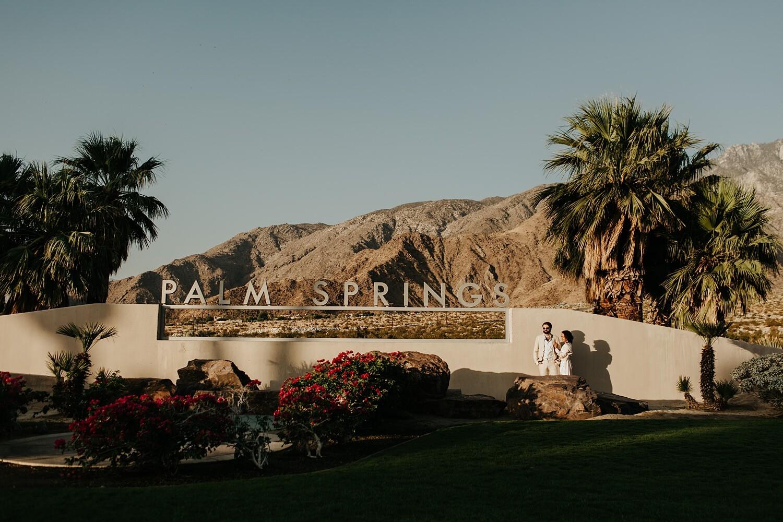 Palm Springs Elopement